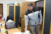 Prezidentské volby v Lažištích na Prachaticku.