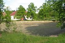 Rybník v Olšovicích.