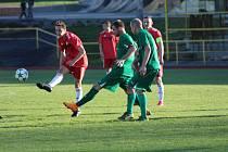 Fotbalová A třída: Prachatice - Lažiště 2:4.