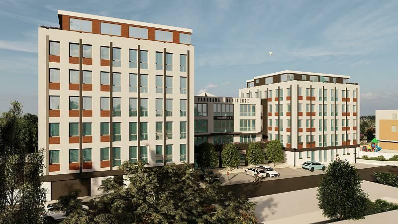 Budova bývalého sídla KSČ v prachatické Vodňanské ulici se mění. Objekt nabídne moderní byty i s parkováním.