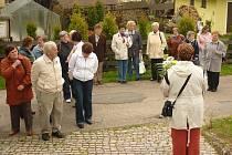 Letošní květnové setkání seniorů z Volar a Prachatic