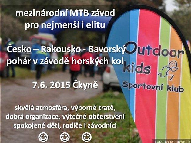 Ve Čkyni se jede další závod mezinárodního seriálu MTB.