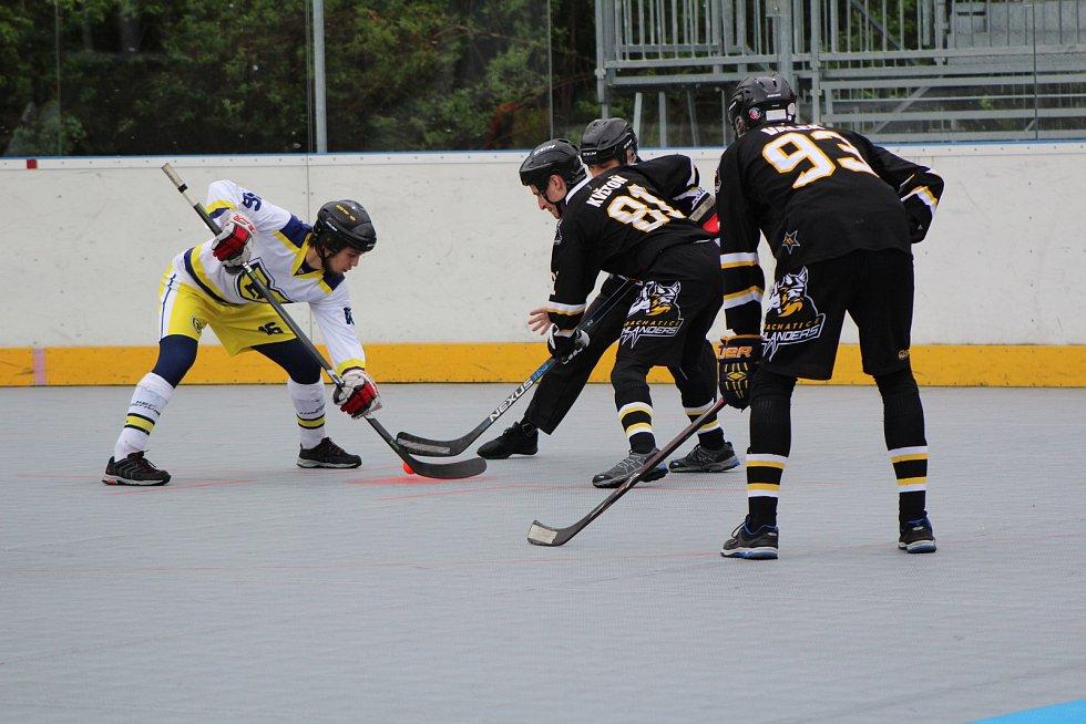 O víkendu půjdeme i na rozhodující utkání semifinále play off 1. ligy hokejbalistů.