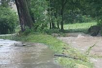 Prachatice: Mlýnská ulice - Živný potok