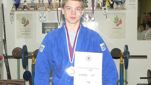 Jiří Petrášek se stal mistrem republiky v judo.