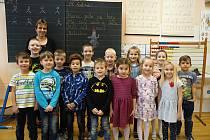 1. A třída ze Základní školy Smetanova ve Vimperku.