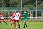 Fotbalová A třída: Prachatice - Semice 2:4.