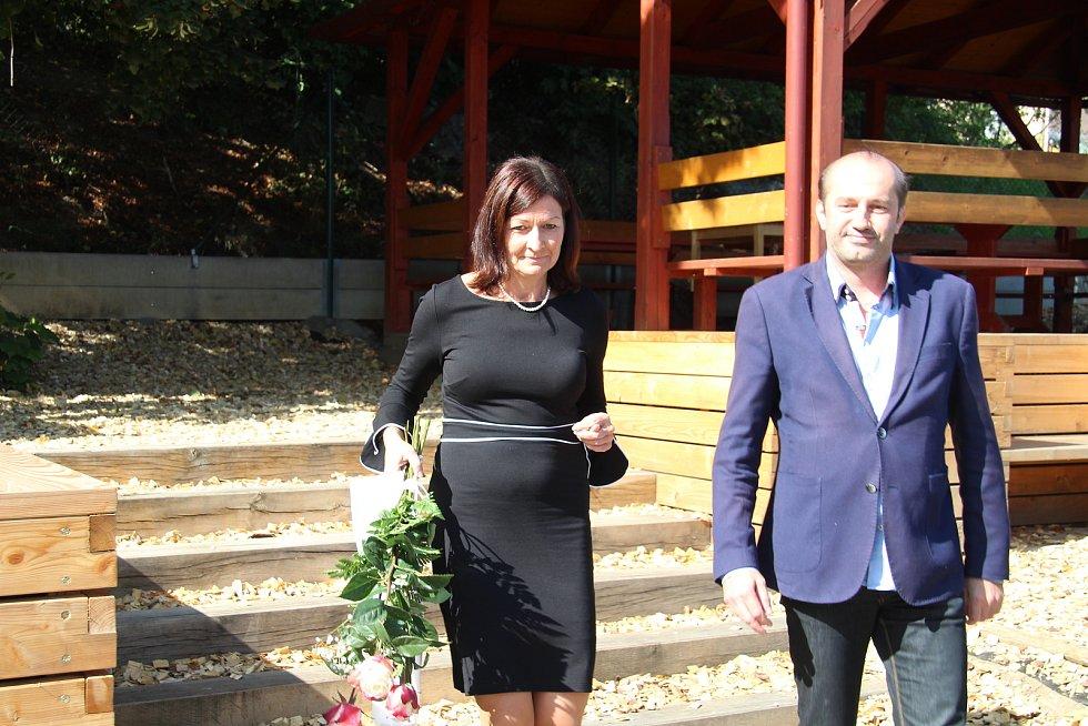Otevření rekonstruované půdy v ZŠ Vodňanská.