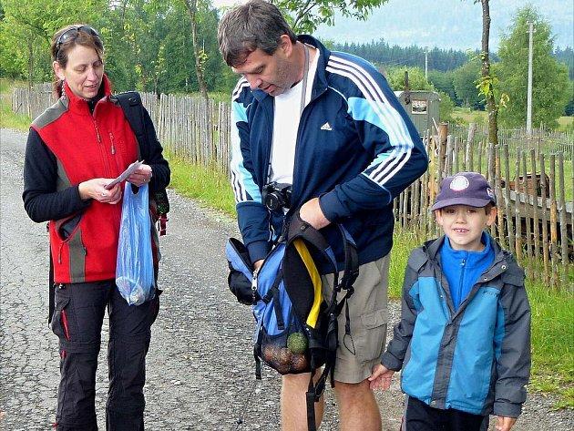 Volarští putovali na Schwarzenberský kanál a na Stožec.