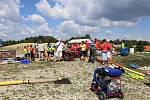 Družstva dobrovolných hasičů se v Budilově o víkendu utkala v požárním útoku.