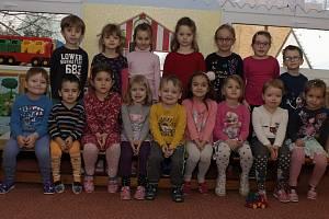 Modrá třída v Mateřské škole Prachatice v Zahradní ulici.