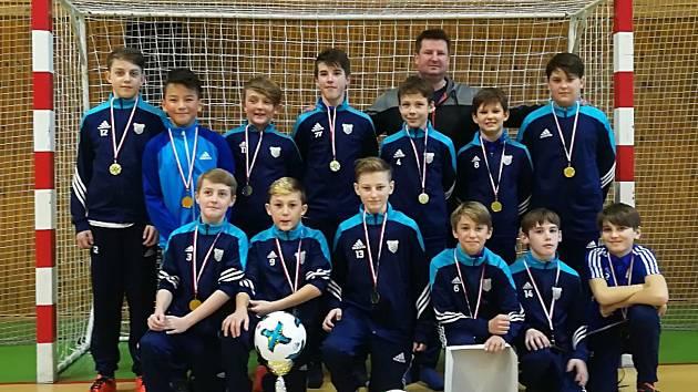 Vimperští mladší žáci vyhráli Vltavotýnskou halovou ligu.
