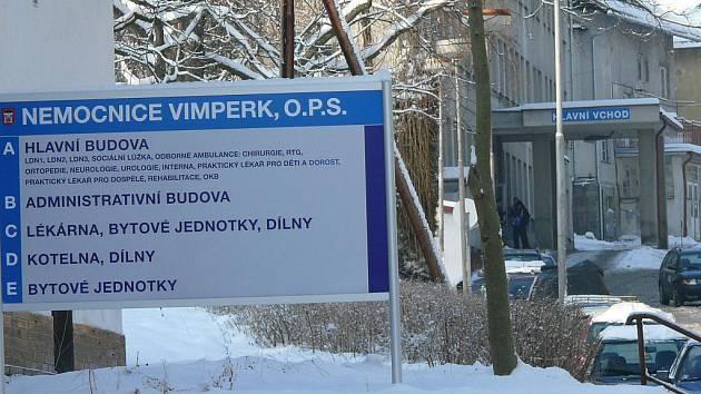 Vimperská nemocnice funguje i s novým provozovatelem.
