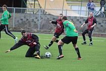 Fotbalová příprava: Prachatice - Chvalšiny 1:1