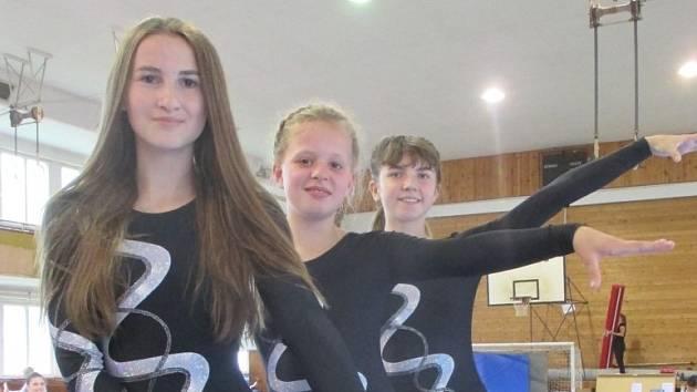 Gymnastkám z Vimperka se  krajský přebor povedl.