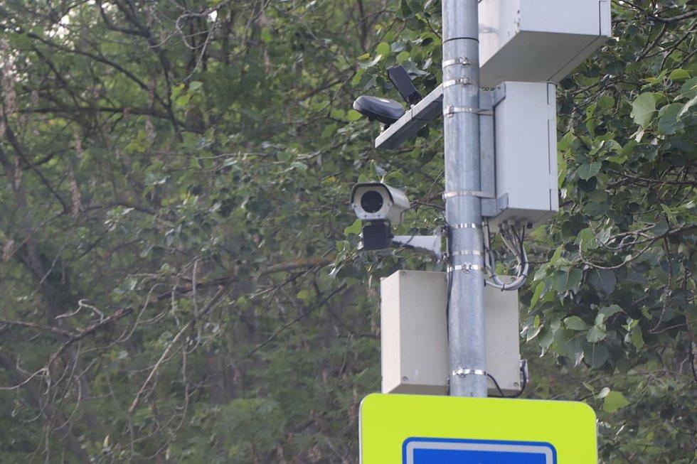 Kamery, které se objevily začátkem týdne ve Vimperku.