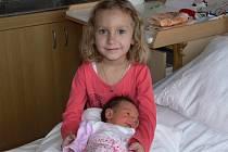Karin Uhrová se narodila v prachatické porodnici v pátek 4. ledna v 04.15 hodin. Vážila 3040 gramů a měřila 48 centimetrů. Doma v Prachaticích na malou Karin a maminku Veroniku čekala čtyřletá sestřička Sabinka.