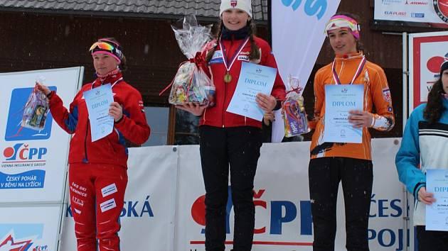 Tereza Forstová vyhrála na Bořžím Daru skicross.