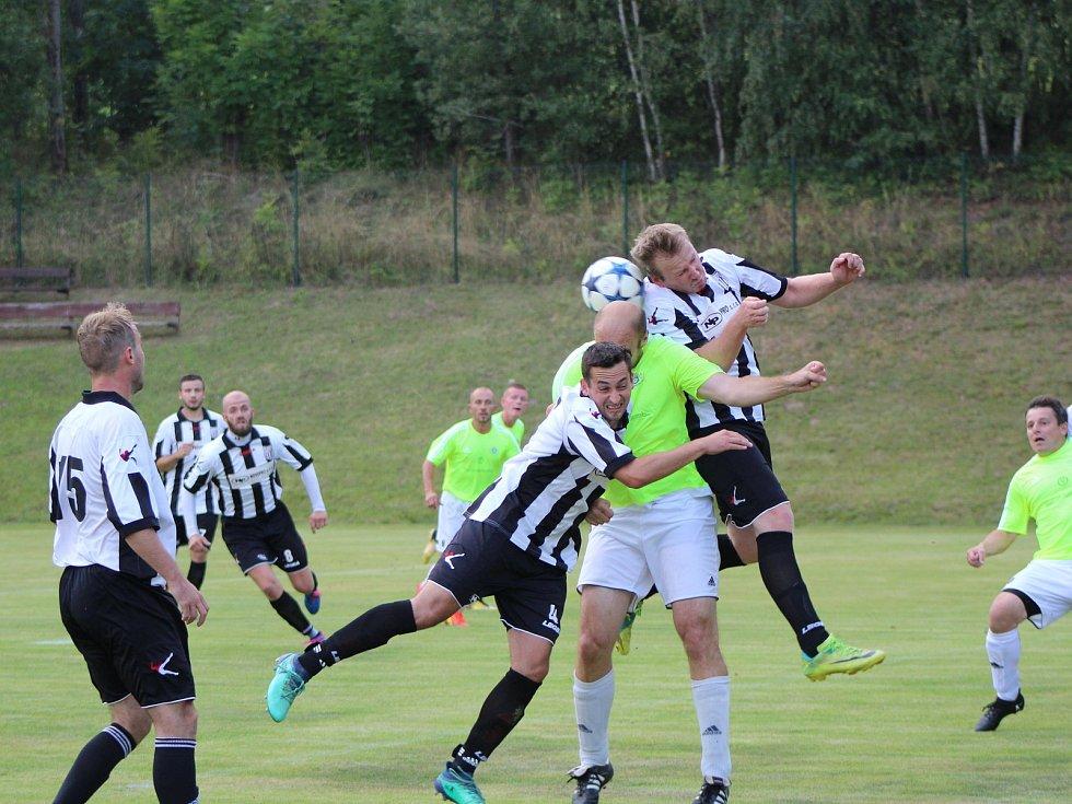 Fotbalová I.B třída: Stachy - Dražejov 2:1.