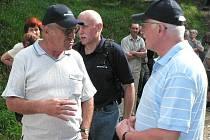 Jan Stráský doprovázel při výstupu na Boubín v červnu 2006 i prezidenta Václava Klause.