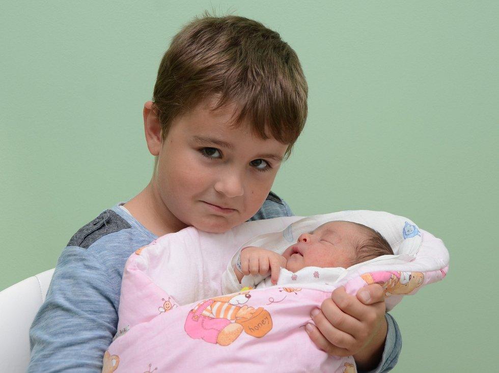Ve strakonické porodnici se v úterý 12. září  sedm minut po šesté hodině v podvečer narodila Terezka Černá z Bohumilic. Vážila 3150 gramů. První fotografování s malou sestřičkou si nenechal ujít skoro osmiletý bráška Honzík.