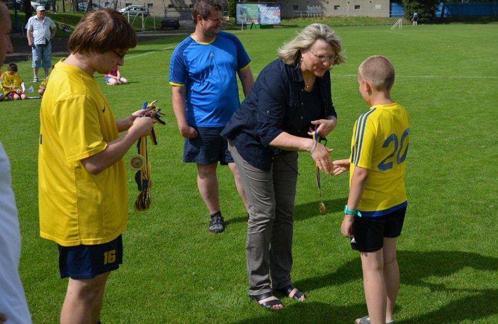 Mladí vimperští fotbalisté dělají klubu i městu radost.