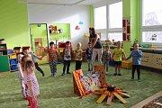 Mikulášká nadílka ve volarské mateřské škole.