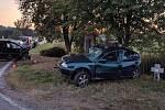 Další týden a další vážná dopravní nehoda u Vitějovic.