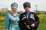 Do Vitějovic dorazili i manželé Nina a Alex Mandžulovi, členové Všekozáckého svazu Českých zemí a Slovenska.