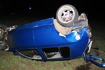 V golfu našel ve čtvrtek 16. října nad ránem smrt třiadvacetiletý řidič