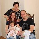 Anna Šatavová s rodinou.