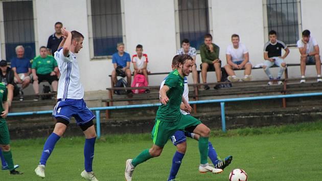 Fotbalová I.A třída: Vodňany - Prachatice 3:3.