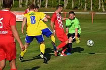 Fotbalová I.A třída: Velešín - Vimperk 0:4 (0:1).