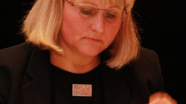 Starostka Vimperku Jaroslava Martanová (SNK Evropští demokraté)