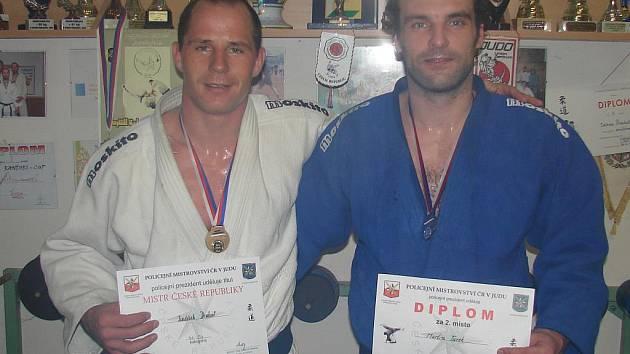 Jindřich Drahoš a Martin Turek.