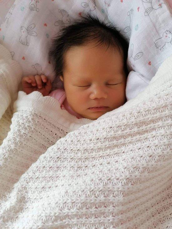 LUCIE ELENA HUDÁKOVÁ, VITĚJOVICE. Narodila se ve středu 15. ledna v 6 hodin a 20 minut v písecké porodnici. Vážila 3700 gramů a měřila 50 cm. Rodiče: Lucie Kellnerová a Pavel Hudák.