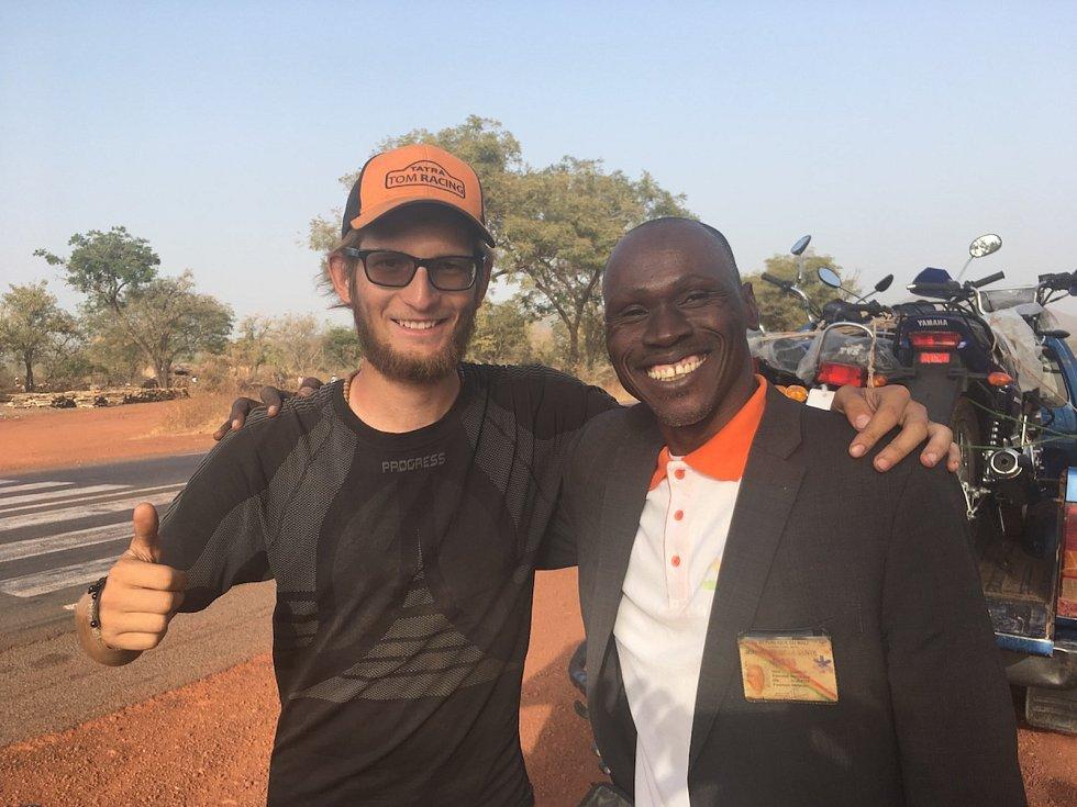 Africké putování Tadeáše Šímy z Prachatic
