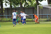 Fotbalová A třída: Vodňany - Lažiště 0:6.