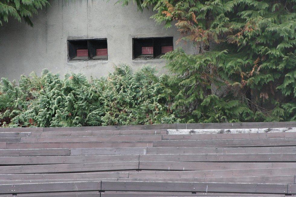 Současný stav Letního kina v Prachaticích.