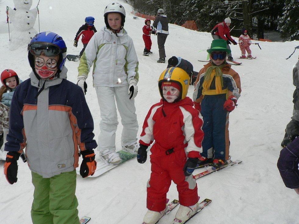 V sobotu odpoledne 7. března se sešly na Libínském Sedle děti různých věkových kategorií, zúčastnily se hned několika disciplín.