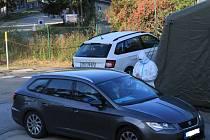 Volby z auta v prachatickém závodě Správy a údržby silnic Jihočeského kraje.