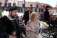 Hostem Slavností Zlaté stezky byla v roce 2006 Hana Zagorová.