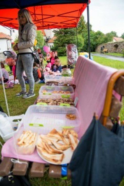 Piknik v prachatickém Parkáně.