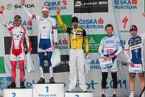 Na padesátikilometrové trati byl nejlepší Václav Ježek, který těsně zdolal druhého Jana Hrušku.