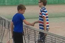 Lažišťský turnaj mladých tenistů.