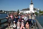 Páťáci z Vodňanky na výletě v Rakousku.