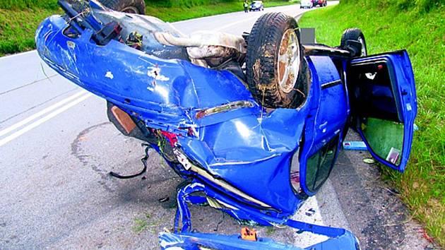 Tragická nehoda u Žárovné.