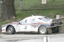 Historic Vltava rallye 2012 vyhrál Nor Jensen.
