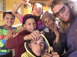 Tadeáš má cíl své cesty Kapské Město skoro na dohled
