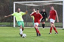 Fotbalová B třída: Strunkovice - Stachy 7:0.